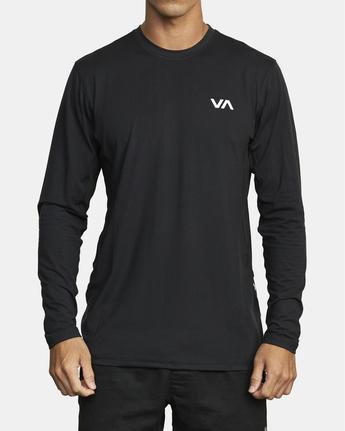 1 Sport Vent - Haut de sport manches longues pour Homme Noir W4KTMARVP1 RVCA