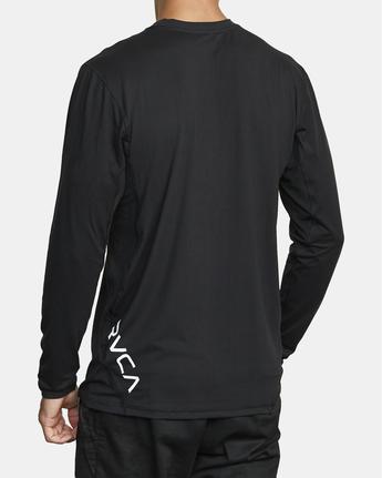 4 Sport Vent - Haut de sport manches longues pour Homme Noir W4KTMARVP1 RVCA