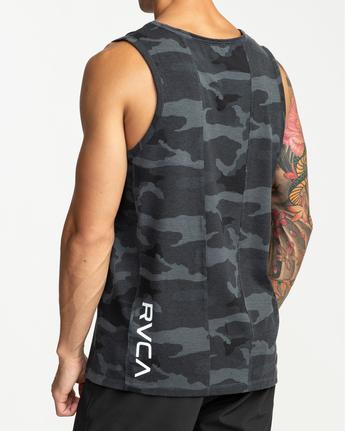 3 Sport Vent - T-shirt sans manches pour Homme Camo W4KTMCRVP1 RVCA