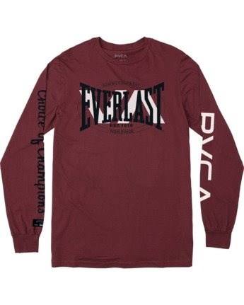 Everlast x Everlast Stack Patch - Long Sleeve T-Shirt for Men  W4LSMBRVP1