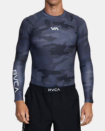VA Sport - Long Sleeve Rash Vest for Men  W4MYRARVP1