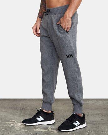 2 VA Sport Tech - Pantalon de jogging pour Homme Gris W4PTMCRVP1 RVCA