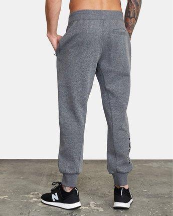 3 VA Sport Tech - Pantalon de jogging pour Homme Gris W4PTMCRVP1 RVCA