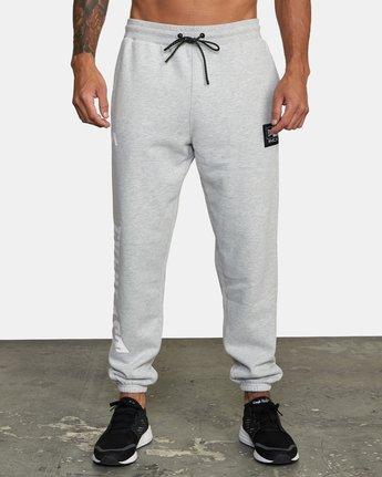 1 Everlast x RVCA - Joggers for Men Grey W4PTMDRVP1 RVCA