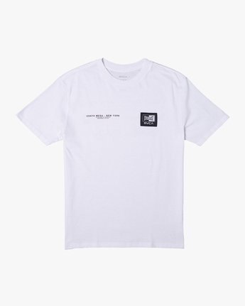 0 Everlast x RVCA - T-Shirt for Men White W4SSMJRVP1 RVCA