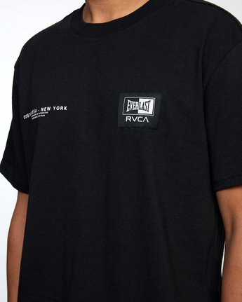 7 Everlast x RVCA - T-Shirt for Men Black W4SSMJRVP1 RVCA