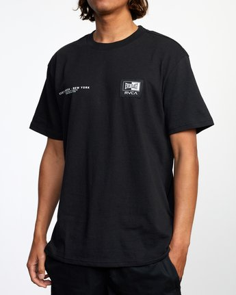 5 Everlast x RVCA - T-Shirt for Men Black W4SSMJRVP1 RVCA