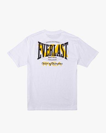 1 Everlast x RVCA Stack Patch - T-Shirt for Men White W4SSMLRVP1 RVCA