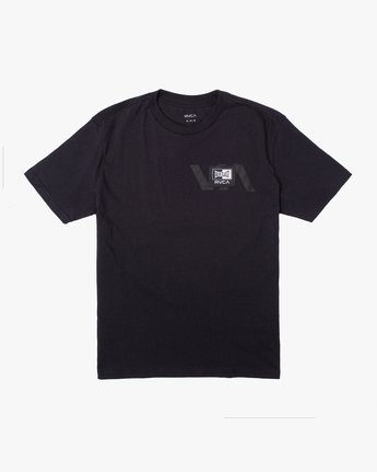 Everlast x RVCA Stack Patch - T-Shirt for Men  W4SSMLRVP1