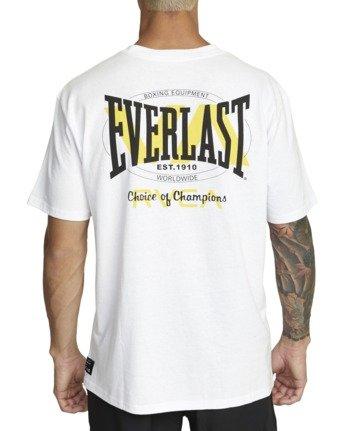 3 Everlast x RVCA Stack Patch - T-Shirt for Men White W4SSMLRVP1 RVCA