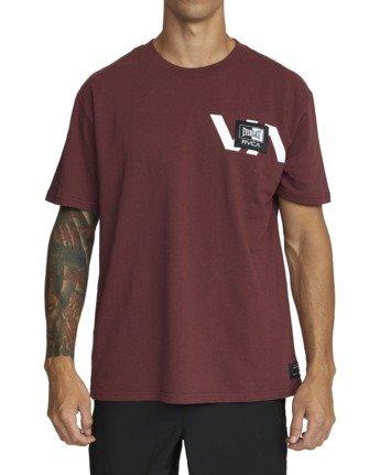 2 Everlast x RVCA Stack Patch - T-Shirt for Men Brown W4SSMLRVP1 RVCA