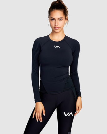 Compression - Long Sleeve Sports Top for Women  W4TPWHRVP1