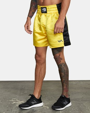 2 Everlast x RVCA - Boxing Shorts for Men Pink W4WKMFRVP1 RVCA