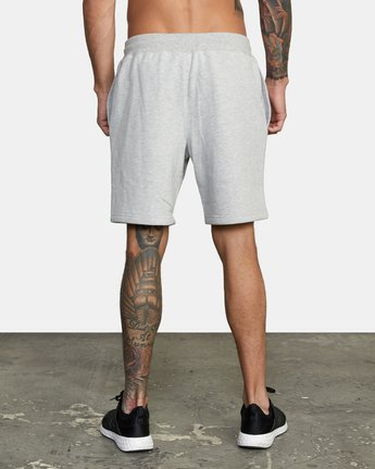 2 Everlast x RVCA - Sweat Shorts for Men Grey W4WKMGRVP1 RVCA