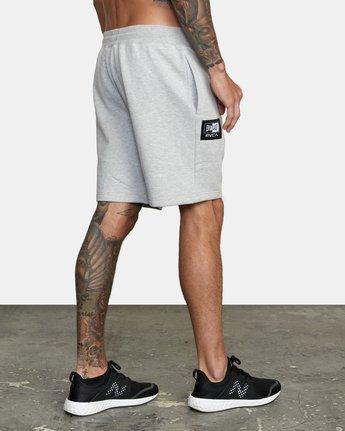 4 Everlast x RVCA - Sweat Shorts for Men Grey W4WKMGRVP1 RVCA