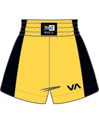 9 Everlast x RVCA - Boxing Shorts for Women Pink W4WKWARVP1 RVCA