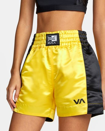 2 Everlast x RVCA - Boxing Shorts for Women Pink W4WKWARVP1 RVCA