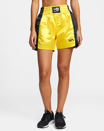 Everlast x RVCA - Boxing Shorts for Women  W4WKWARVP1