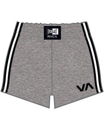 9 Everlast x RVCA - Sweat Shorts for Women Grey W4WKWBRVP1 RVCA