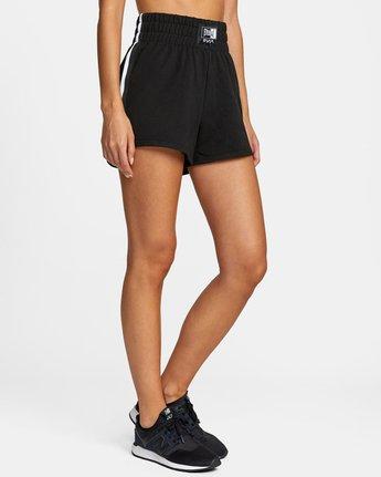 7 Everlast x RVCA - Sweat Shorts for Women Black W4WKWBRVP1 RVCA