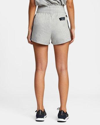 1 Everlast x RVCA - Sweat Shorts for Women Grey W4WKWBRVP1 RVCA