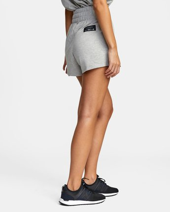 7 Everlast x RVCA - Sweat Shorts for Women Grey W4WKWBRVP1 RVCA