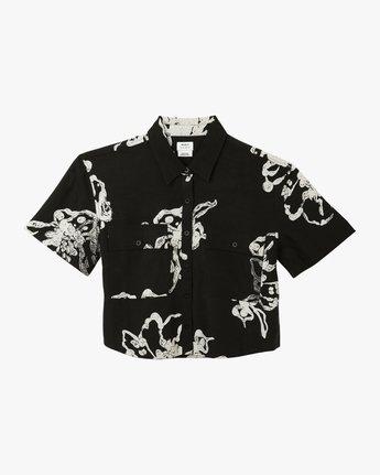 6 Voila Button-Up Shirt Black W503TRVO RVCA