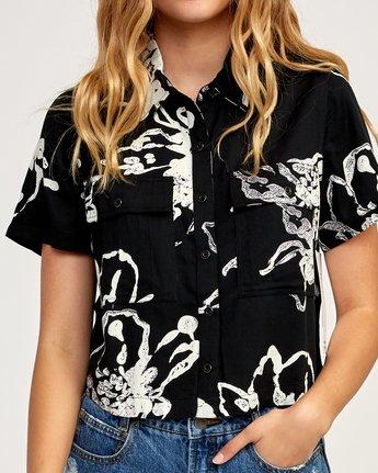 4 Voila Button-Up Shirt Black W503TRVO RVCA