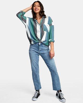 5 Hera Oversized Button-Up Shirt  W504WRHE RVCA