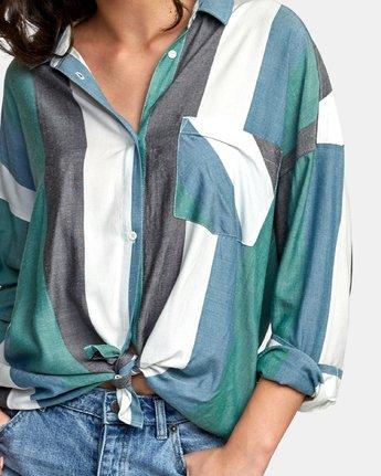 2 Hera Oversized Button-Up Shirt  W504WRHE RVCA