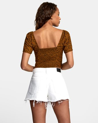 1 NO MATTERS TOP Brown W5412RNM RVCA