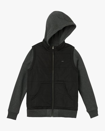 5 Eternal Quilted Fleece Jacket  W601QRET RVCA