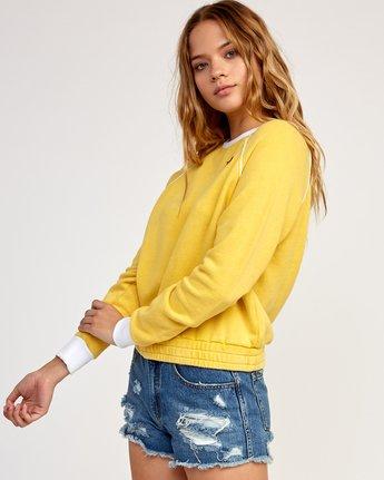 2 Hangtown Fleece Sweatshirt Beige W601TRHF RVCA