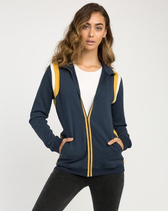 0 Space Age Fleece Jacket  W603NRSA RVCA