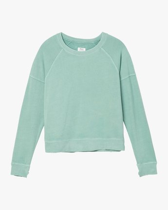 4 Shadethrow Fleece Sweatshirt Green W604QRSH RVCA