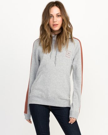 1 VA All The Way Colorblocked Hoodie  W612QRVA RVCA