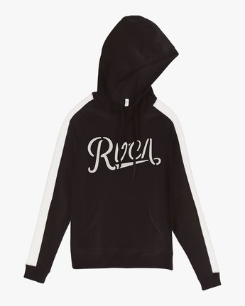 5 Maryweather Colorblocked Hoodie Black W612SRMA RVCA
