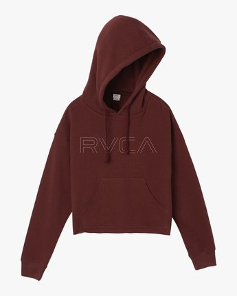5 Pinner Cropped Hoodie Pink W621SRPI RVCA
