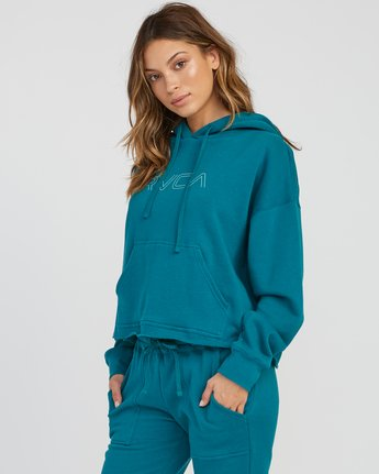 1 Pinner Cropped Hoodie Multicolor W621SRPI RVCA