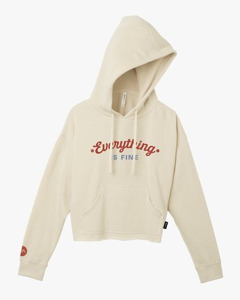 5 Everything Is Fine Hoodie  W621TREV RVCA