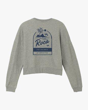6 Mai Tai Fleece Pullover Grey W627TRMA RVCA