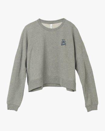 5 Mai Tai Fleece Pullover Grey W627TRMA RVCA
