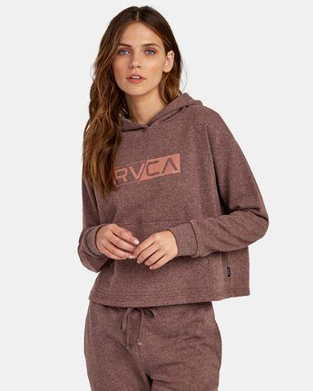 LATERAL RVCA HOODIE  W635WRLA