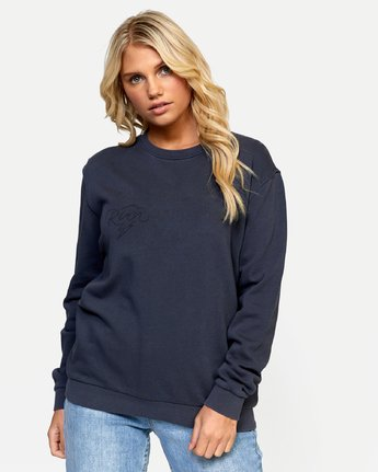 0 STRUCK PULLOVER Green W6432RST RVCA