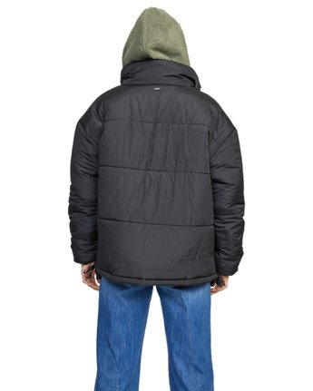 7 MAMMOTH PUFFA JACKET Black W7063RMA RVCA