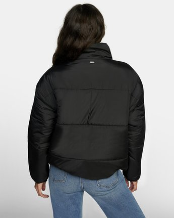 1 MAMMOTH PUFFA JACKET Black W7063RMA RVCA