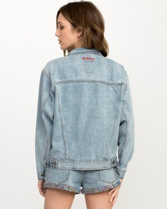 2 Grillo Denim Jacket  W707QRGR RVCA