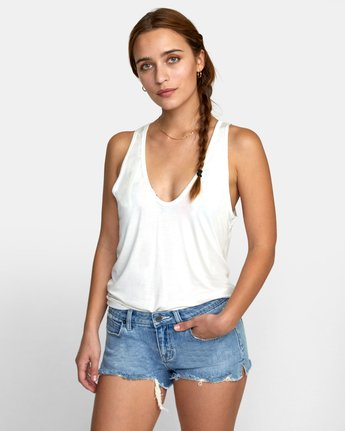 2 MINTED TANK TOP White W9021RMI RVCA