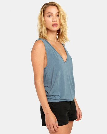 1 MINTED TANK TOP Orange W9021RMI RVCA