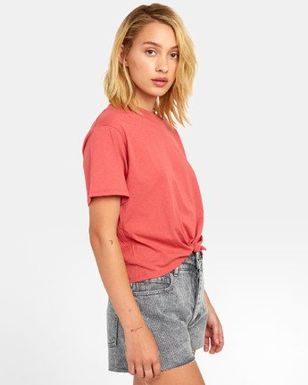 2 RADLEY T-SHIRT Red W9041RRA RVCA